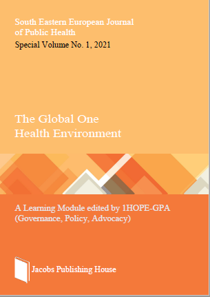 View Special Volume No. 1, 2021: The Global One Health Environment